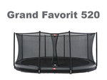 Berg Inground Grand Favorit grau 520 x 350 oval mit...