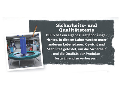 Berg Inground Grand Champion schwarz 520 x 350 oval mit Sicherheitsnetz Deluxe