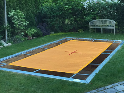 Eurotramp Bodentrampolin Grand Master